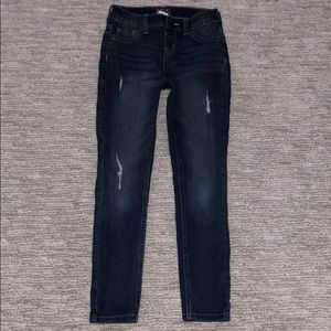 Justice mid-rise jeggings